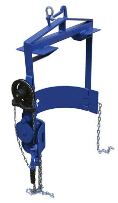 Hoist Mounted Drum Carrier Rotator