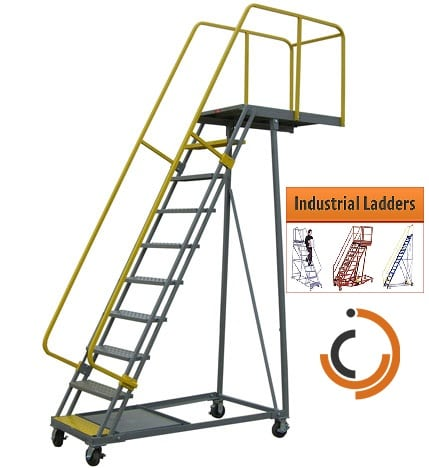 Industrial Ladder Safety (Custom Stairways)
