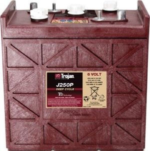 J250G Deep-Cycle Flooded 6-Volt Battery