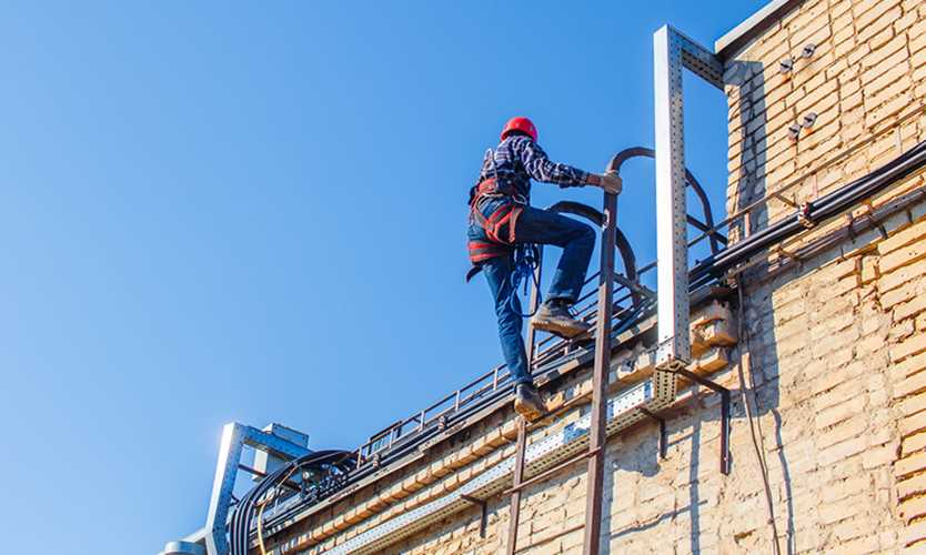 Ladder Safety Rules Industrial Man Lifts