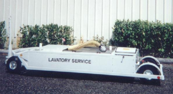 Lavatory Service Cart 1