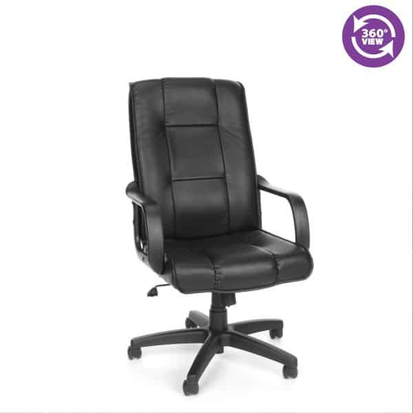 Leather ExecutiveConference High-Back Chair