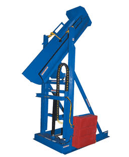 Lift and Dump Hydraulic Drum Dumpers