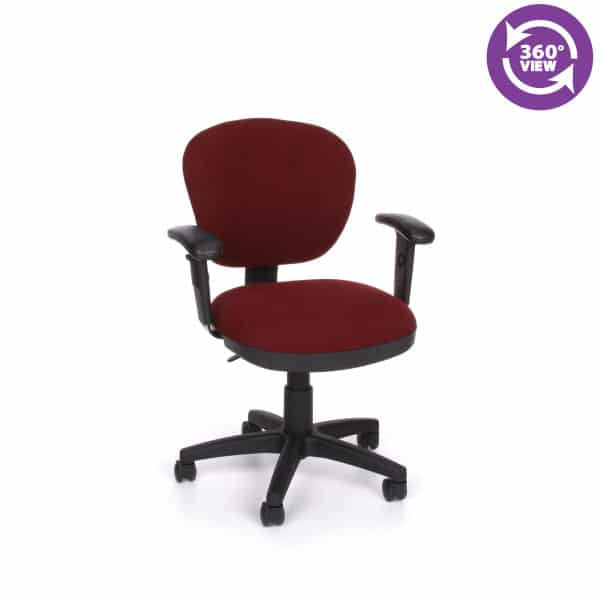 Lite Use Computer Task Chair with Arms