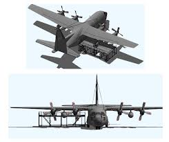 Lockheed C-130 Wing Stands