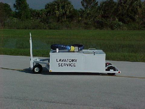 Low Profile Lavatory Service Cart 3