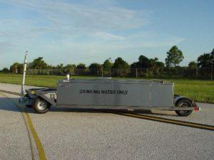 Low Profile Potable Water Cart 250 Gallon