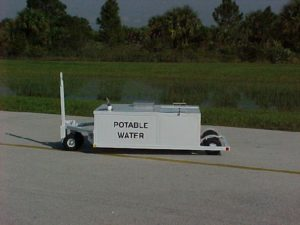 Low Profile Potable Water Cart Fully Winterized