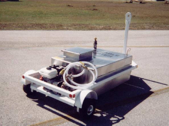 Low Profile Potable Water Service Cart