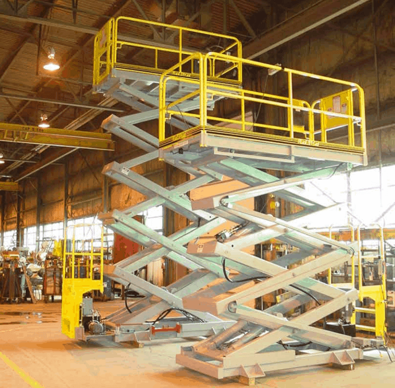 MP Series Manually Positioned Scissor Lifts 1