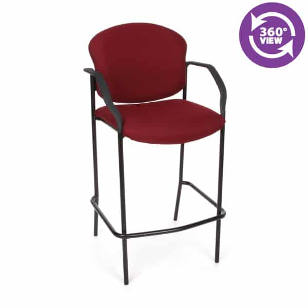 Manor Series Cafe Height Chair with Arms