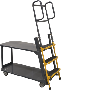 Merchandise Ladder Cart