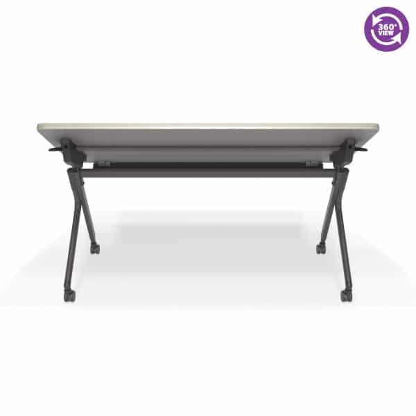 Mesa Series Nesting Training TableDesk with Privacy Panel 23.50 by 59