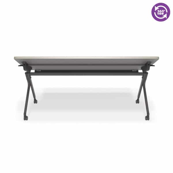Mesa Series Nesting Training TableDesk with Privacy Panel 23.50 by 71