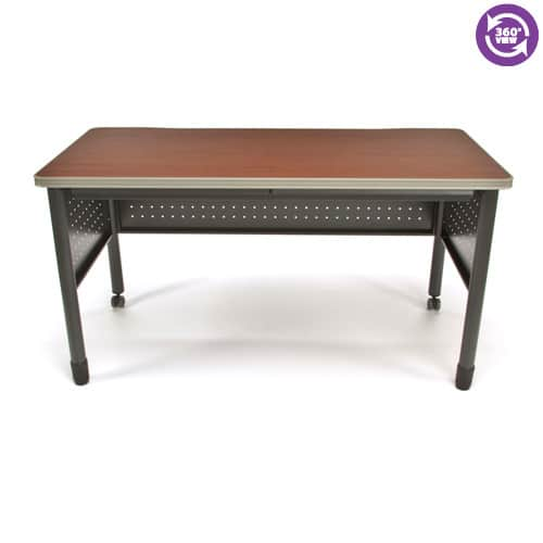 Mesa Series Training TableDesk with Drawers 27.75 by 55.25