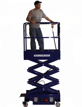 Mini Scissor Lift   Ballymore 1