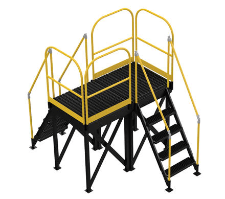 Modular Steel Work Platform System