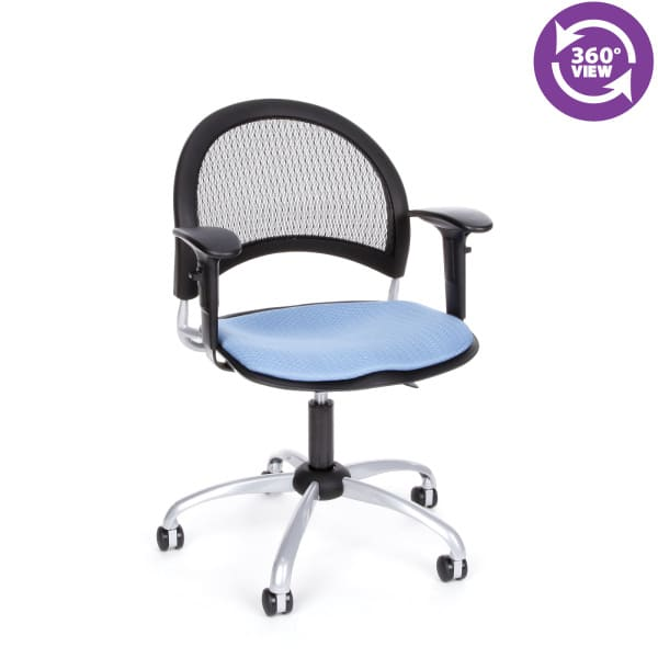 Moon Swivel Chair with Arms