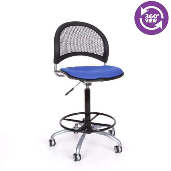 Moon Swivel Chair with Drafting Kit