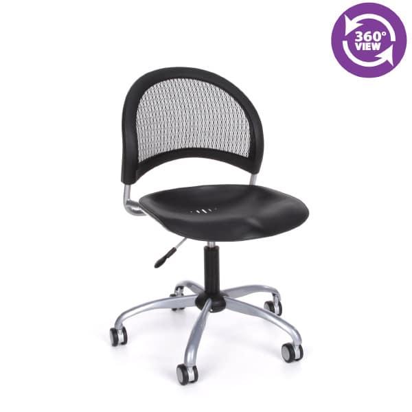 Moon Swivel Plastic Chair