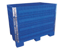 Multi Height Folding Plastic Containers