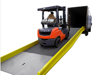 PORTABLE STEEL YARD RAMP