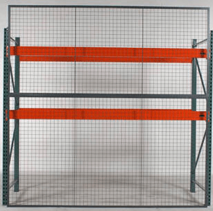 Pallet Rack Back Guard 3