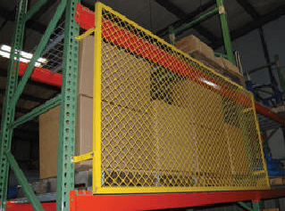 Pallet Rack Back Guard