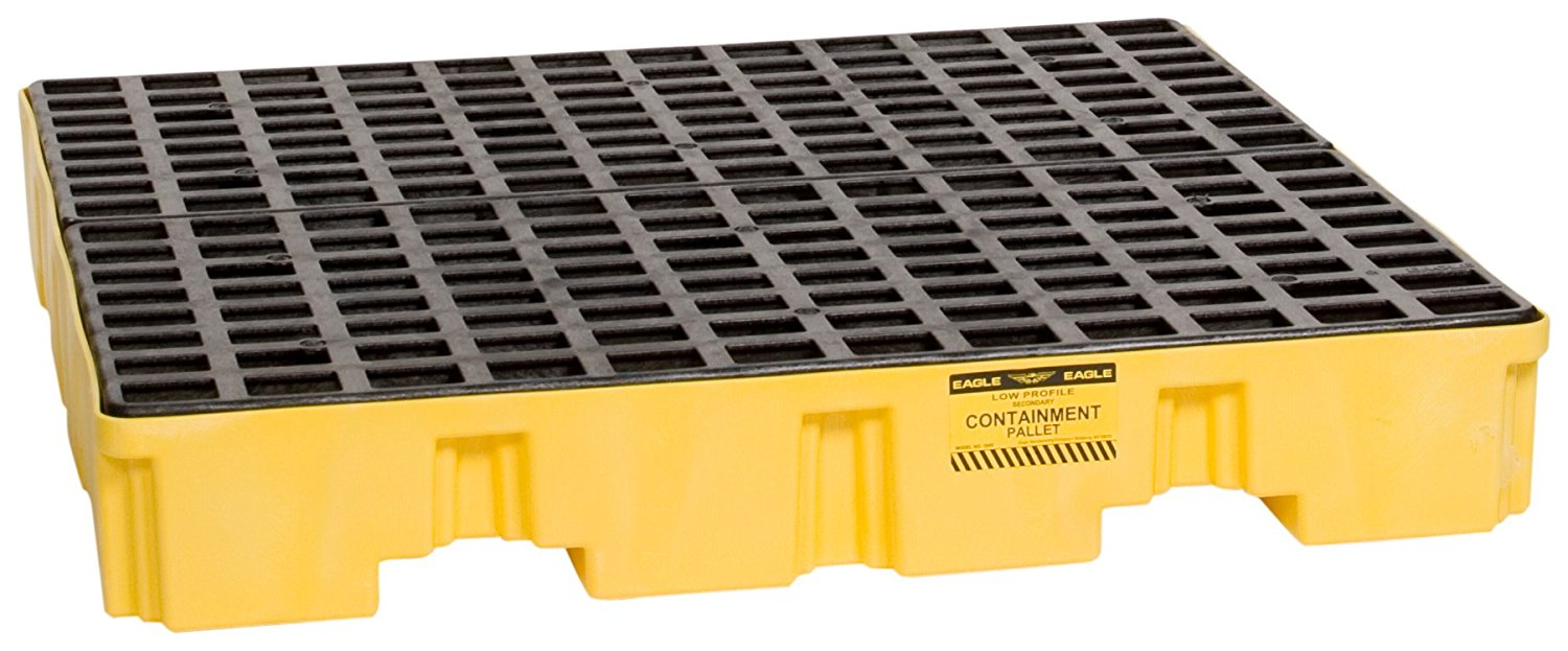 Plastic Pallets & Drum Spill Containers