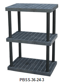 Plastic Shelving and Benches