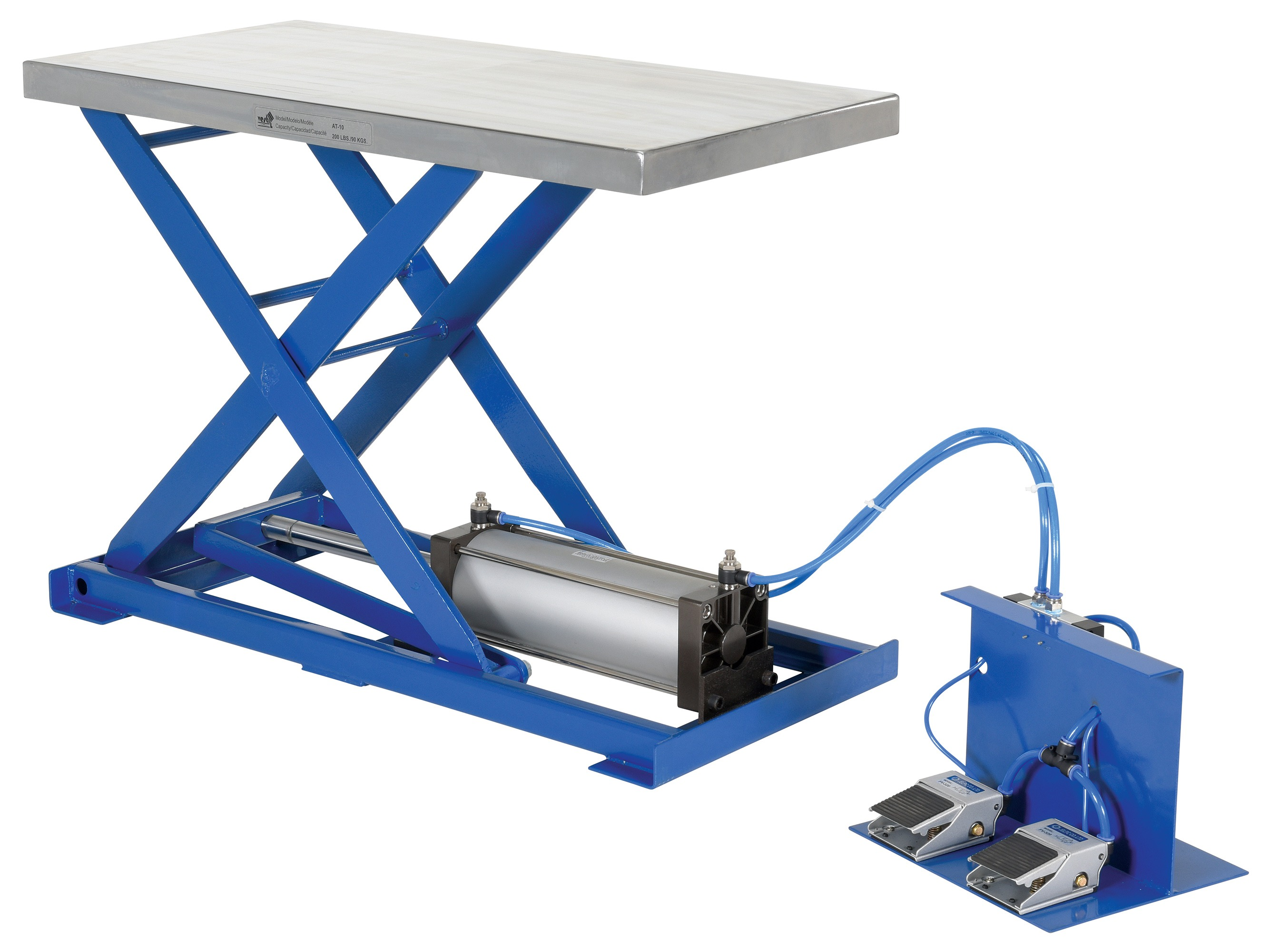 Pneumatic Scissor Lift Table Industrial Man Lifts