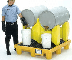 Polyethylene Drum Rack
