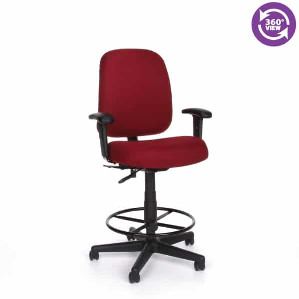 Posture Series Task Chair with Arms and Drafting Kit