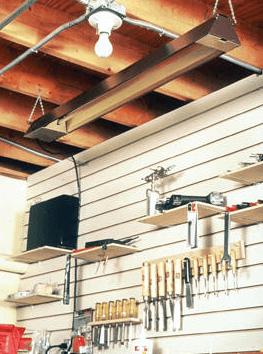 Quartz Infrared Spot Heater