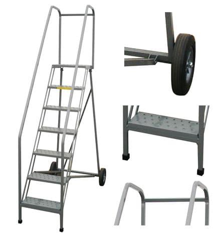 Roll A Fold Ladders Industrial Man Lifts Aircraft