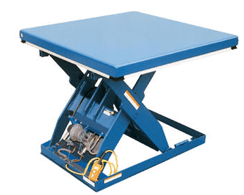 Rotary AirHydraulic Scissor Lift Tables