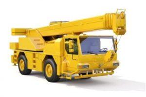 Rough-train-crane