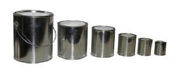 Round Metal Cans