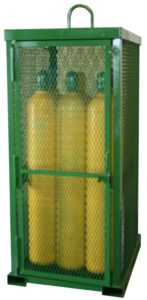 STS-12 Cylinder Cage