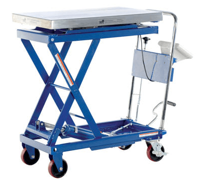 Scissor Cart with Built-In Scale