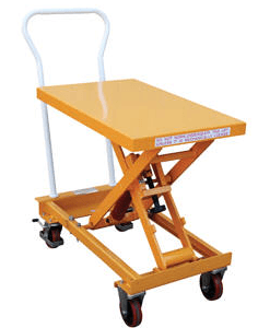 Self-Elevating Lift Carts