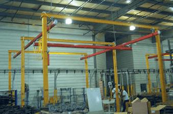 Self Supporting Bridge Cranes