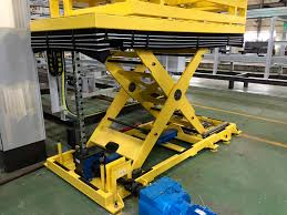 Serapid Mechanical Scissors Lift