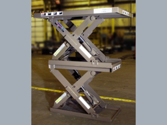 Series 35 Double High Scissor Lift Tables