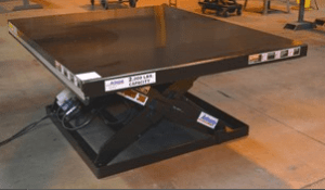 Series 35 Extra Wide Scissor Lift Tables