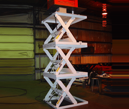 Series 35 Triple High Scissor Lift Tables