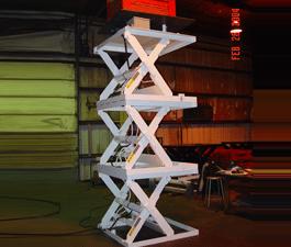 Series 35 Triple High Scissor Lift Tables