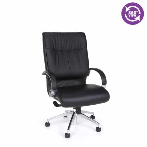 Sharp Series Leather Executive High-Back Chair