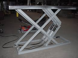 Single Arm Scissors Lift Table