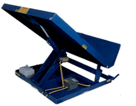 Single Scissor Lift & Tilt Table